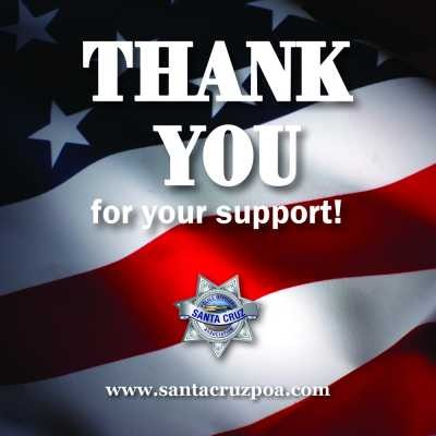 Thank you for Supporting the Badge