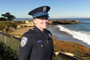 Club honors Santa Cruz firefighter, police officer